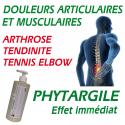PHYTARGILE - gel de massage antidouleur avec argile verte