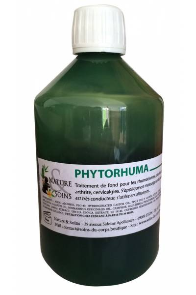 PHYTORHUMA, Gel anti-inflamatoire pour rhumatismes