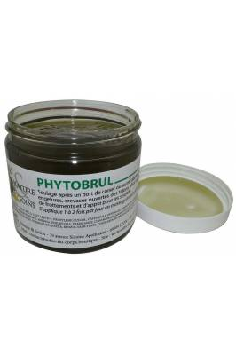 PHYTOBRUL, soins pour brûlure, frottement, zone d'appui