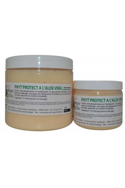 PHYTOPROTEC A L'ALOE VERA prévient la sécheresse de la peau