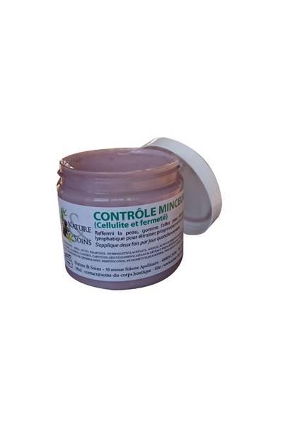 CONTROLE MINCEUR crème massage amincissante, perdre du ventre,